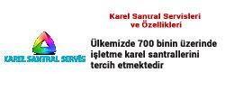 özellik Karel Santral Servisi Anasayfası