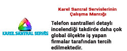 calısma Karel Santral Servisi Anasayfası