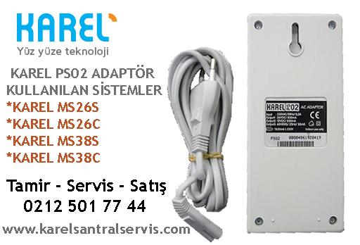 karel ps02 santral adaptoru ms26s c ms38s c Santral Donanımları