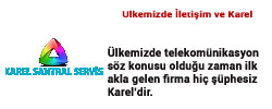 karel2 Karel Santral Servisi Anasayfası
