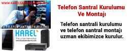 telefon Karel Santral Servisi Anasayfası